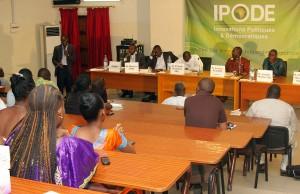 1er forum IPODE